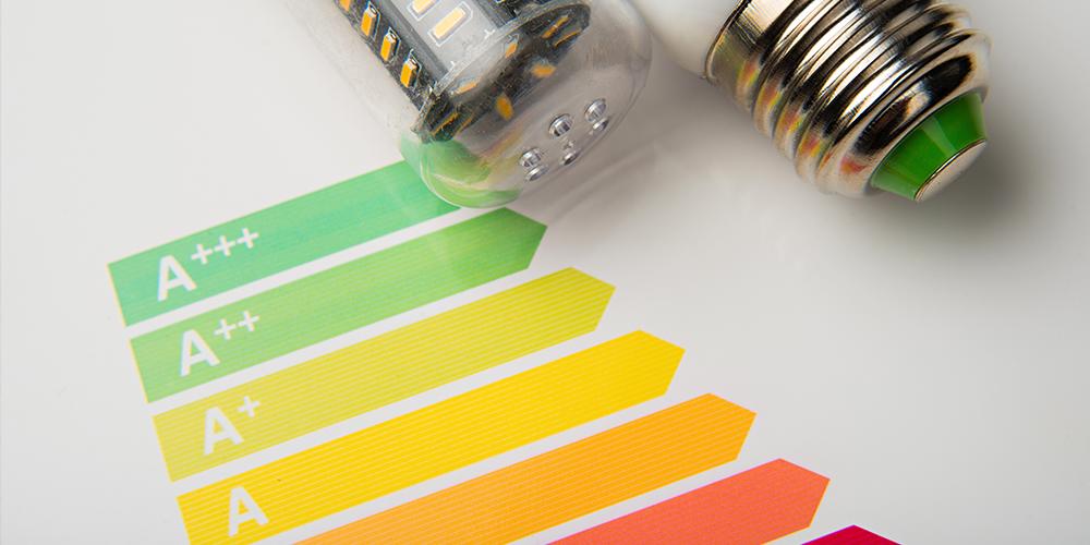 Nieuwe energielabels op lichtbronnen
