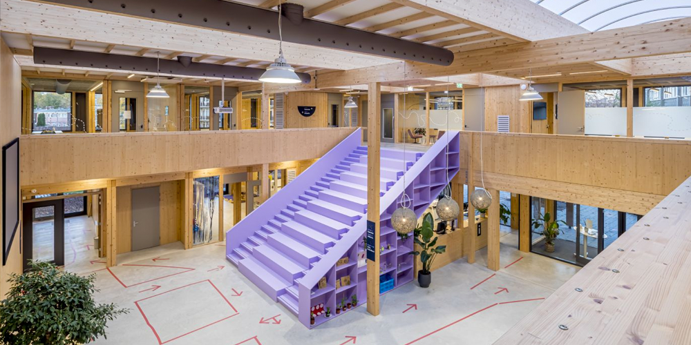 Tijdelijk, circulair en modulair: Basisschool Het Epos