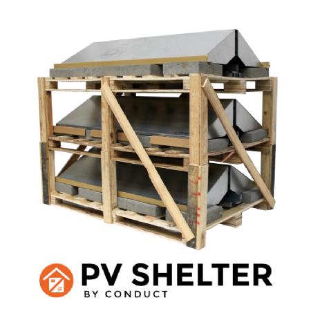 Conduct lanceert PVshelter Non-Assembled
