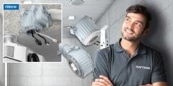 De nieuwe generatie HaloX. Ruimte voor licht en geluid in betonnen wanden en vloeren