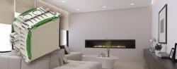 Vlakke variant van de IBT LED inbouwdoos